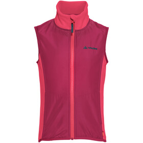 VAUDE Racoon Fleece Vest Kinderen, bright pink